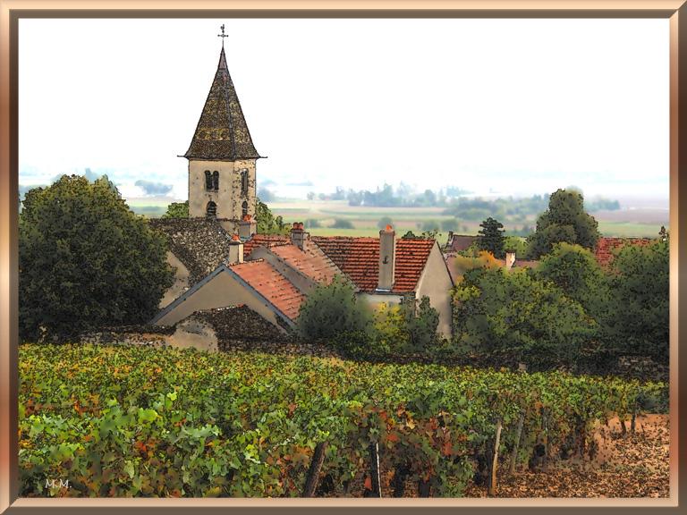 Вокруг Дижона - La Route des Grands Crus - Fixin